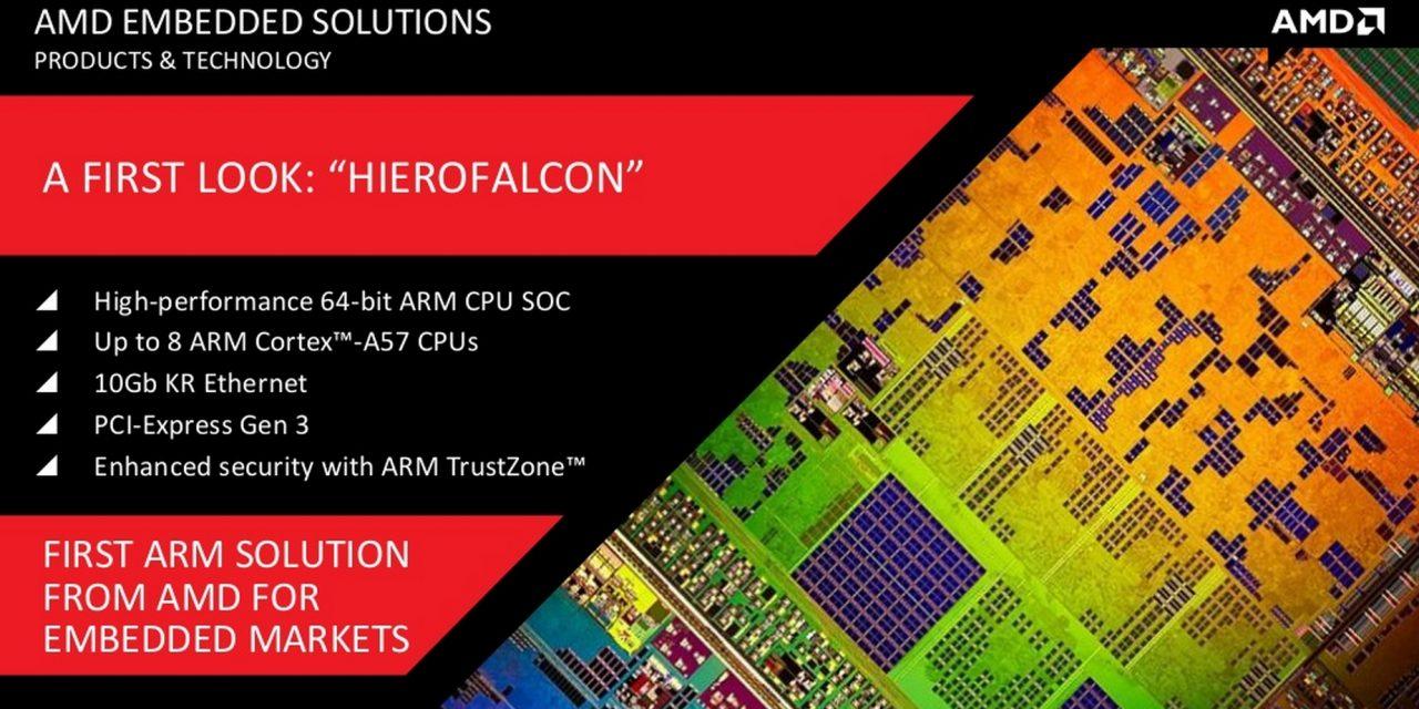 AMD Demonstrates ARM-Based NFV Solution Using Hierofalcon SoC