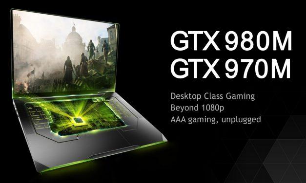 NVIDIA Announces GTX Maxwell Notebooks (980M & 970M)