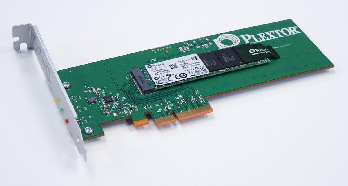 Plextor M6e 256GB SSD Review – speedy PCIe on the cheap