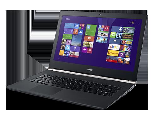 CES 2015: Acer Aspire V 17 Nitro with Intel RealSense 3D