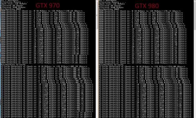 NVIDIA Responds to GTX 970 3.5GB Memory Issue