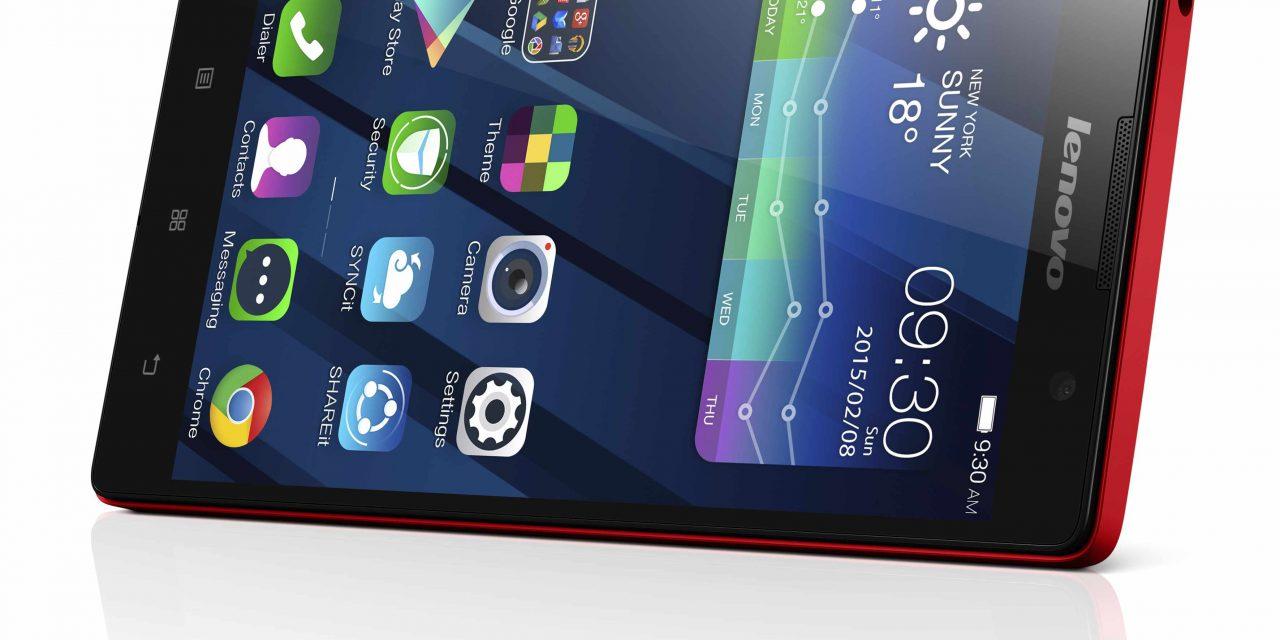 CES 2015: Lenovo Unveils New Intel-Powered P90 Smartphone