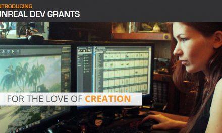 """Epic Games Announces """"Unreal Dev Grants"""""""