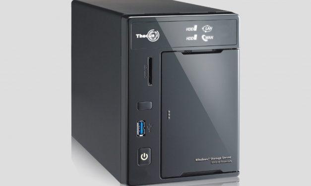 Thecus W2000 Windows Storage Server Review: SOHO NAS with the Power of Microsoft Server