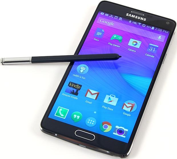 Samsung's phabulous phablet, the Note 4