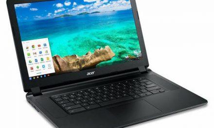 Acer's Latest 15.6″ Chromebook Powered By Core i5 (Broadwell-U) Processor