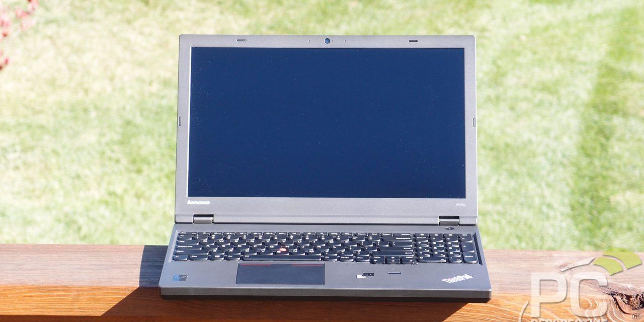 Lenovo ThinkPad W540 Mobile Workstation Review: Two steps forward…?