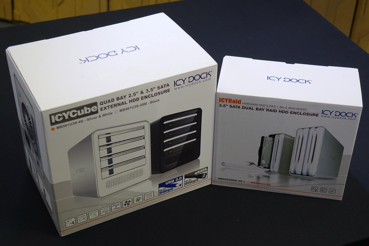 ICY DOCK ICYRaid MB662U3-2S and ICYCube MB561U3S-4S Review