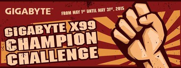 Gigabyte To Host X99 Champion Challenge on HWBOT