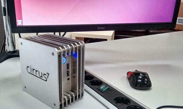 Cirrus7 Shows Off Fanless Nimbini Broadwell NUC PC
