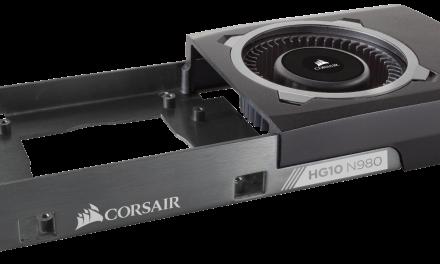 Computex 2015: Corsair Hydro Series HG10 N980 and N970 GPU Cooling Brackets