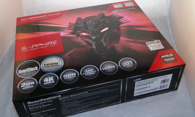 Sapphire R9 285 ITX OC: Sapphire Tackles the ITX Scene