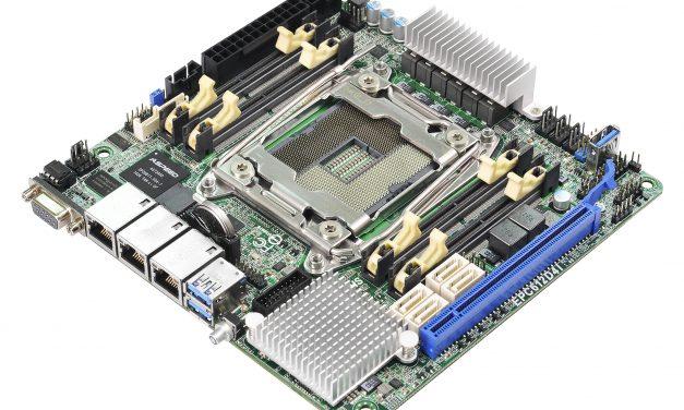 ASRock EPC612D4I Motherboard: Mini-ITX LGA 2011-3 with Quad-Channel DDR4