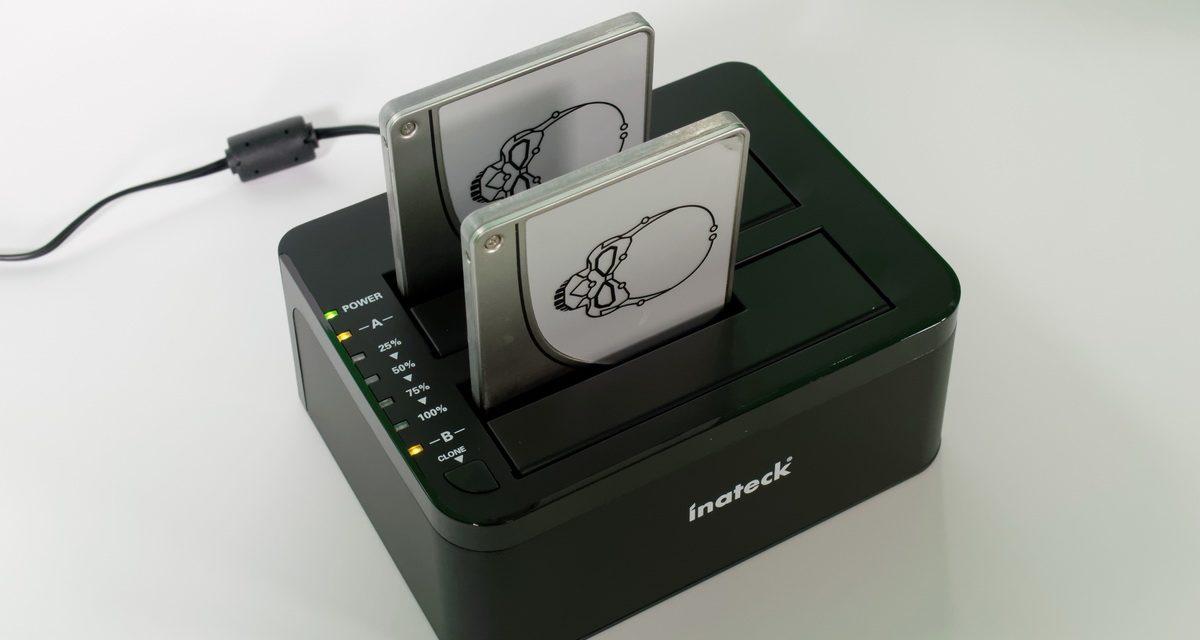 Inateck FD2002 USB 3.0 Dual SATA 2.5″ / 3.5″ UASP Dock and Duplicator Review