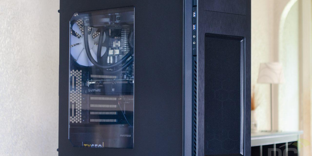 Phanteks Enthoo Pro M Mid-Tower Enclosure Review