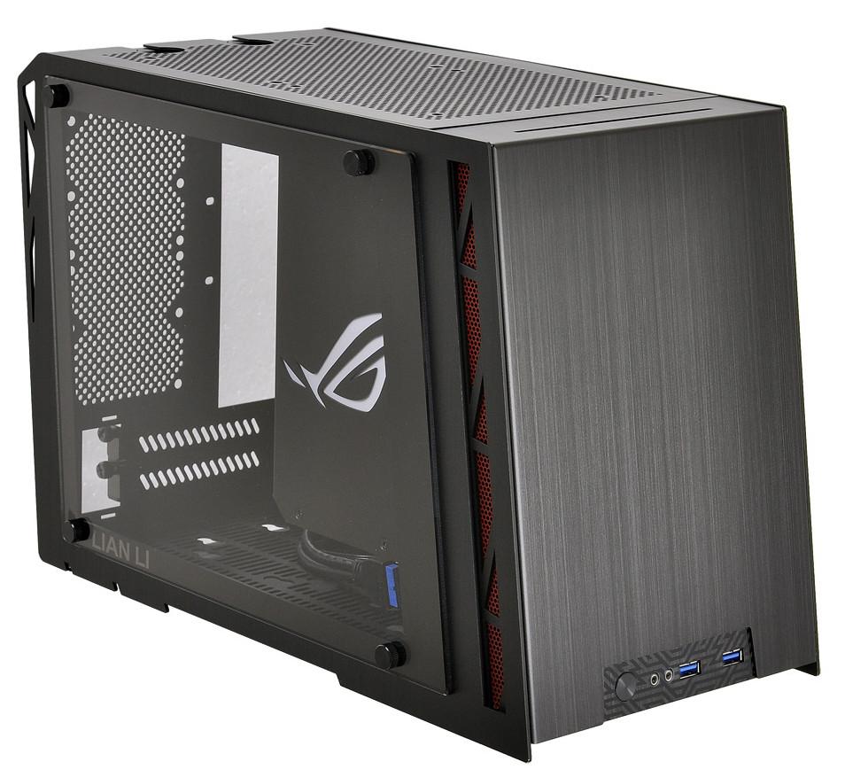 Lian Li and ASUS ROG Create Mini-ITX Gaming Enclosure