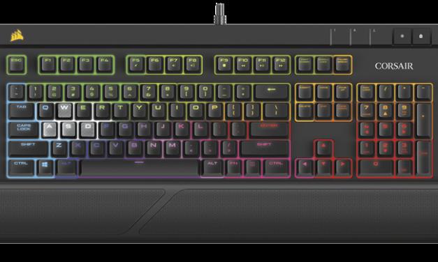 Corsair Launches New RGB Peripherals