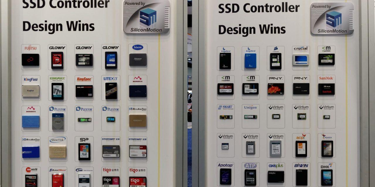 FMS 2015: Silicon Motion SM2260 PCIe 3 0 x4 NVMe Controller