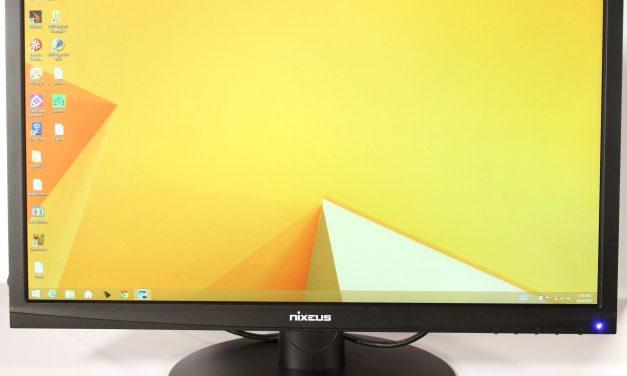 Nixeus Vue 24-in 1080P 144Hz TN 30-144Hz FreeSync Monitor Review