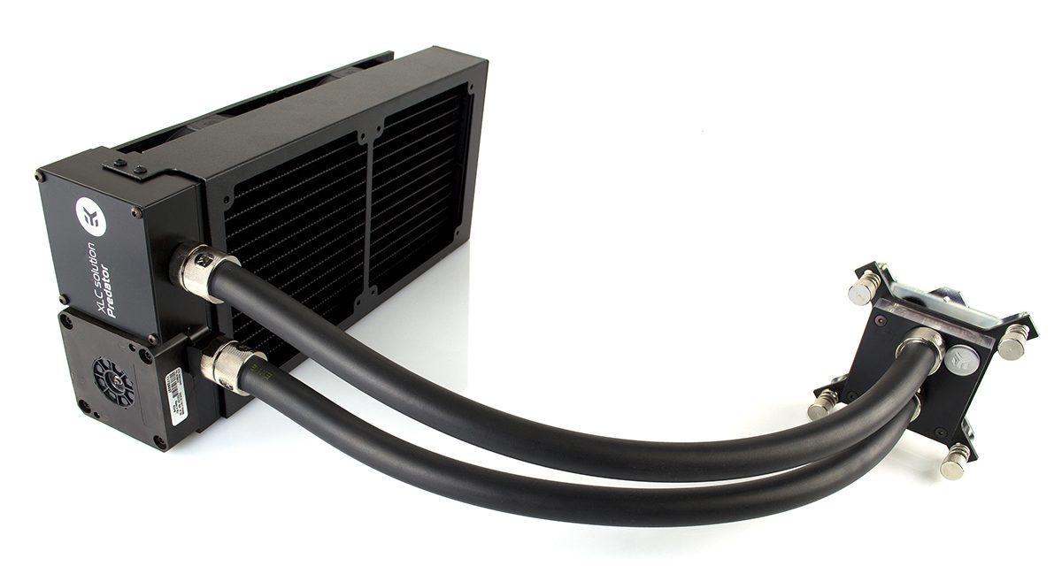 EK Jumps Into AIO Water Cooling With New EK-Predator Coolers