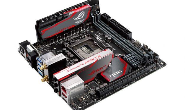 ASUS Announces ROG Maximus VIII Impact Mini-ITX Z170 Motherboard