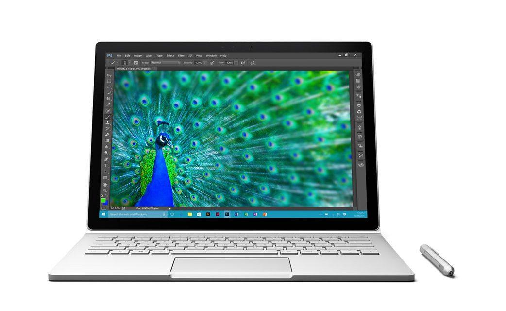 Microsoft Surface Book 2-in-1 with Skylake with NVIDIA Discrete GPU Announced
