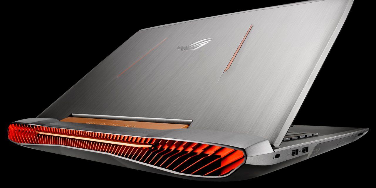 ASUS Announces ROG G752 G-SYNC Gaming Laptop