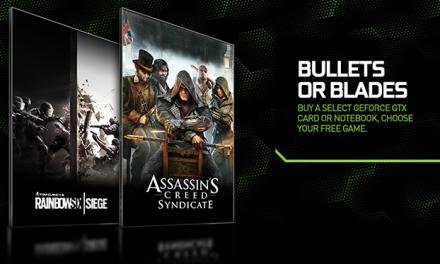 "NVIDIA Announces New ""Bullets or Blades"" GeForce Bundle"