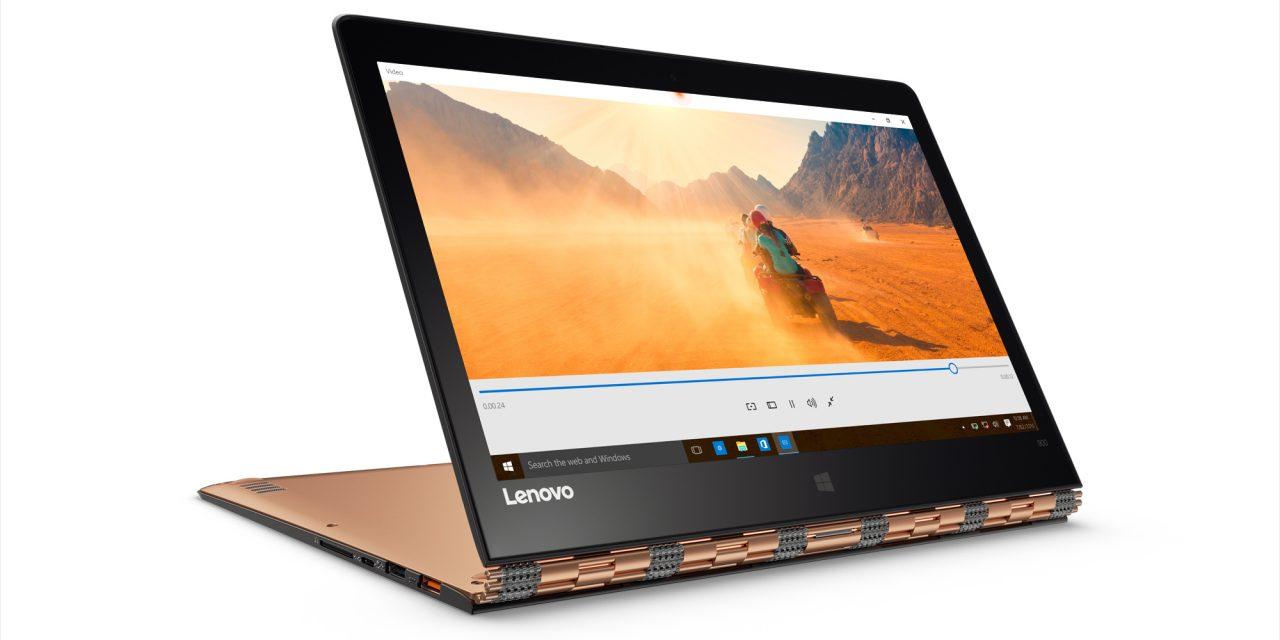 Lenovo Introduces the Ultra-Thin Yoga 900 Convertible Laptop