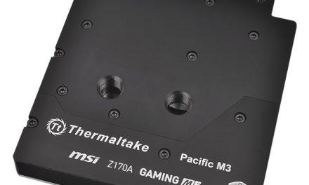 MSI & Thermaltake Make Motherboard-Specific Water Block