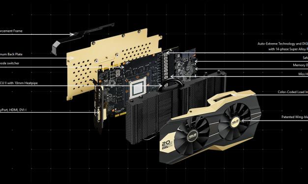 ASUS 20th Anniversary Gold Edition GTX 980 Ti Announced