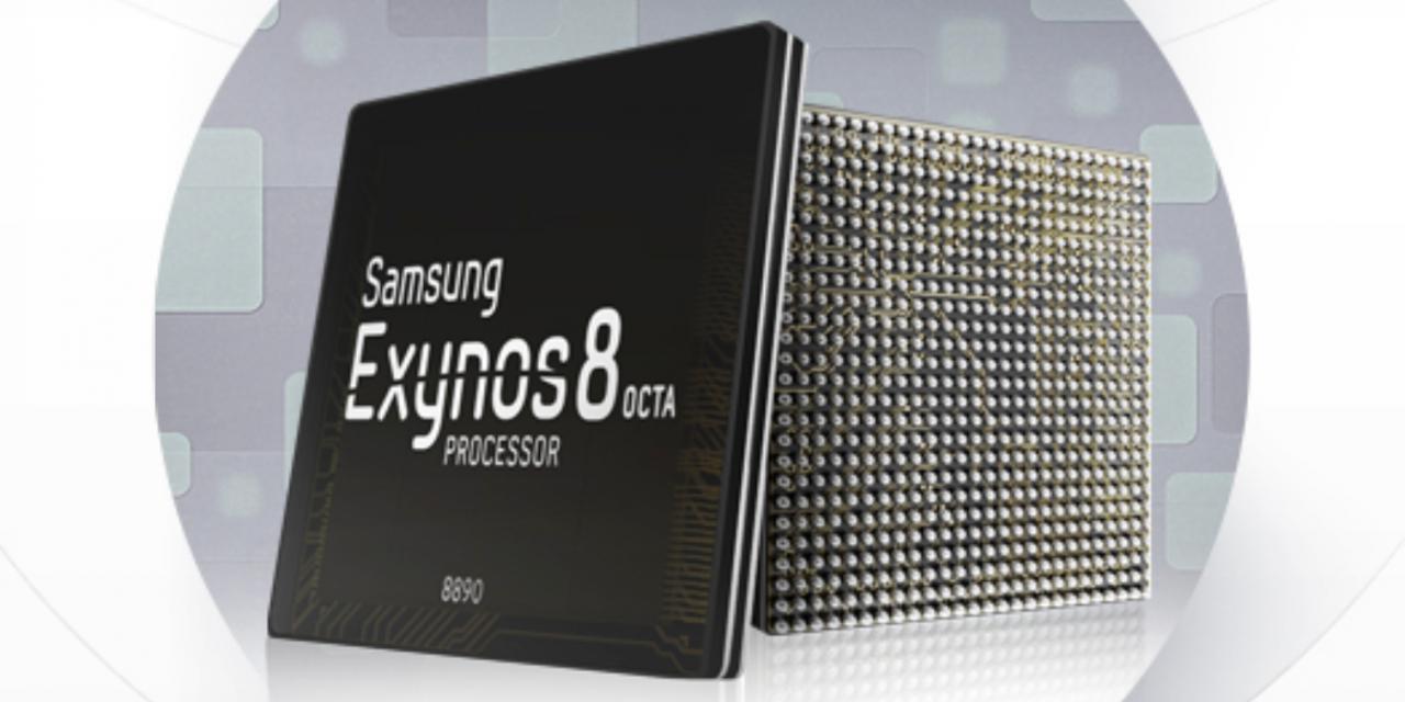 Samsung Announces Exynos 8 Octa 8890 Application Processor