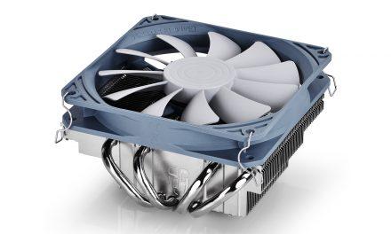 DEEPCOOL Gamer Storm Gabriel Low-Profile CPU Cooler Review