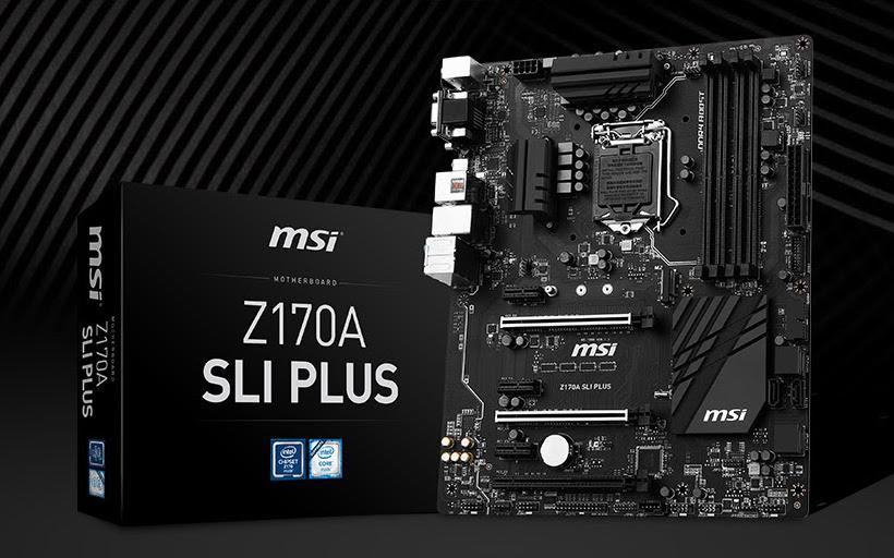 MSI Announces Z170A SLI PLUS Motherboard