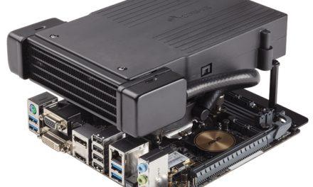 Corsair Launches the H5 SF Mini-ITX CPU Liquid Cooler
