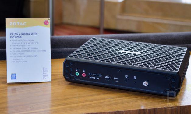 CES 2016: Zotac Fanless C Series Mini-PC with Skylake i5
