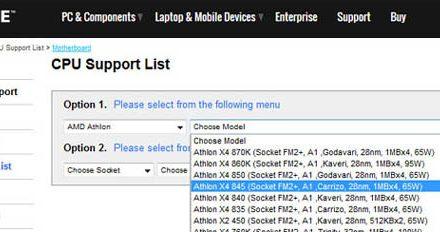 Report: AMD Carrizo FM2+ Processor Listing Appears Online