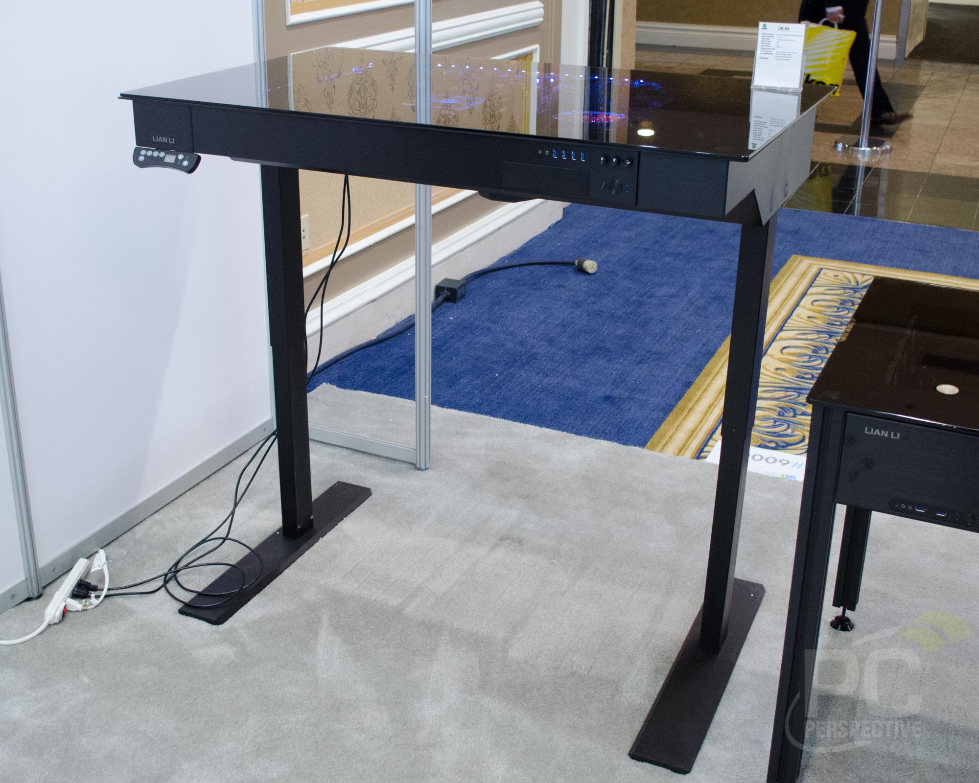 Lian Li DK-04 Sit / Stand Computer Desk Enclosure