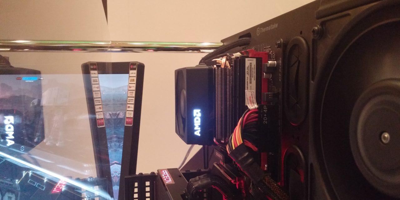 CES 2016: AMD Announces Wraith Cooler