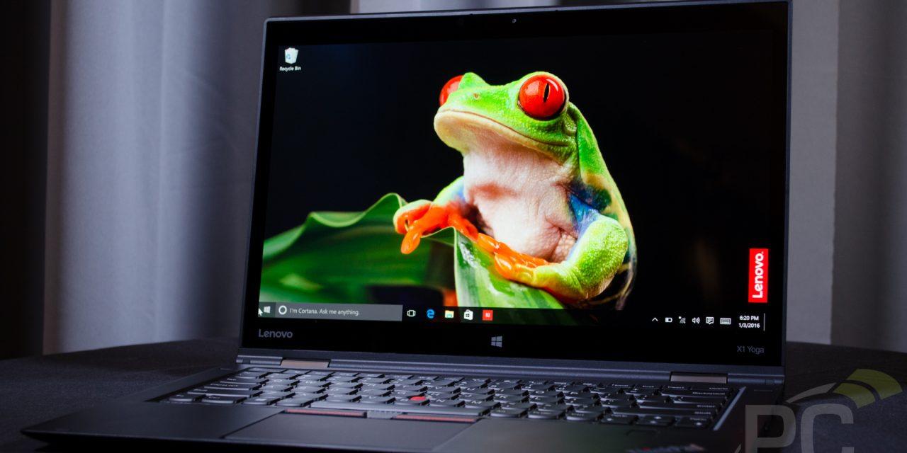 CES 2016: Lenovo Announces ThinkPad X1 Yoga with OLED Screen