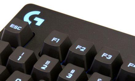 Logitech G810 Orion Spectrum RGB Mechanical Keyboard Review