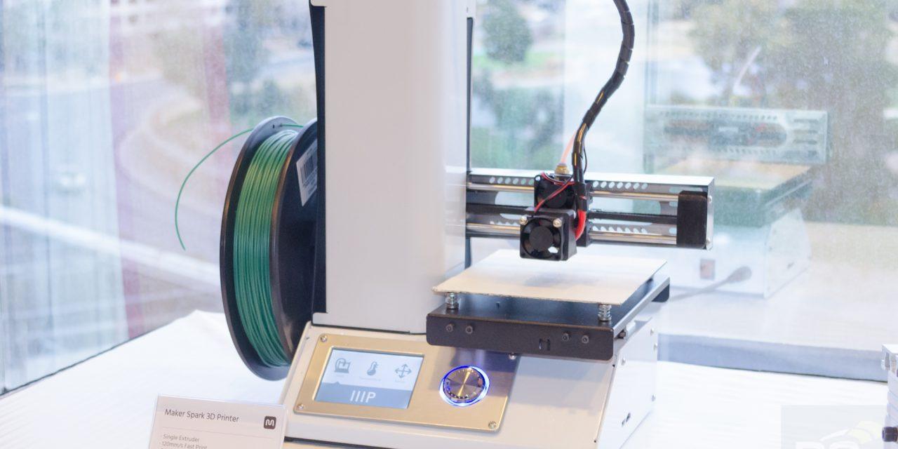 CES 2016: Monoprice $199 3D Printer, DLP 3D Printer, CNC Mill