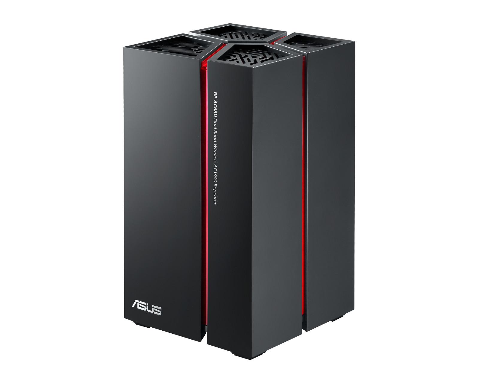 ASUS Announces RP-AC68U AC1900 Wireless Repeater