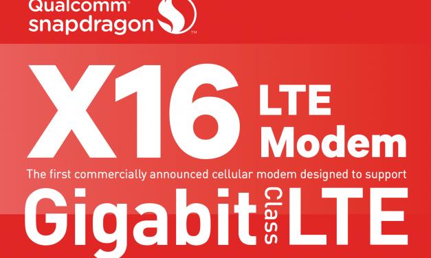 Qualcomm Announces X16 Modem Featuring Gigabit LTE