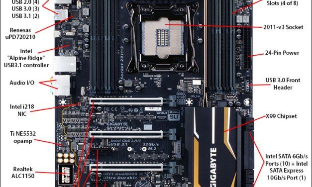 Gigabyte's X99P-SLI; does $230 count as mid-range?