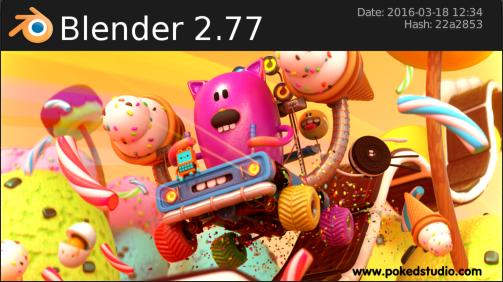 Blender 2.77 Released