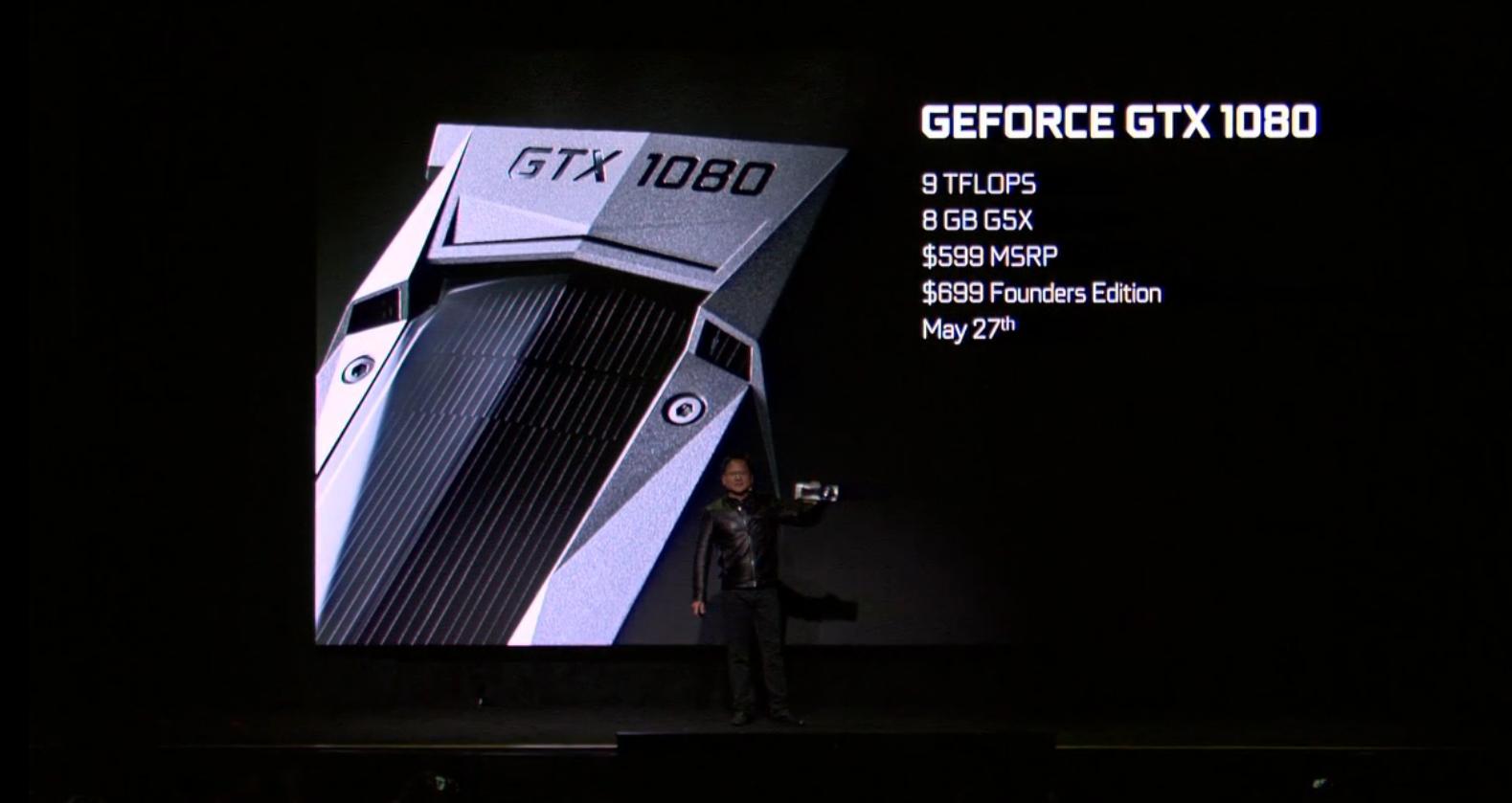 NVIDIA GeForce GTX 1080 and GTX 1070 Announced