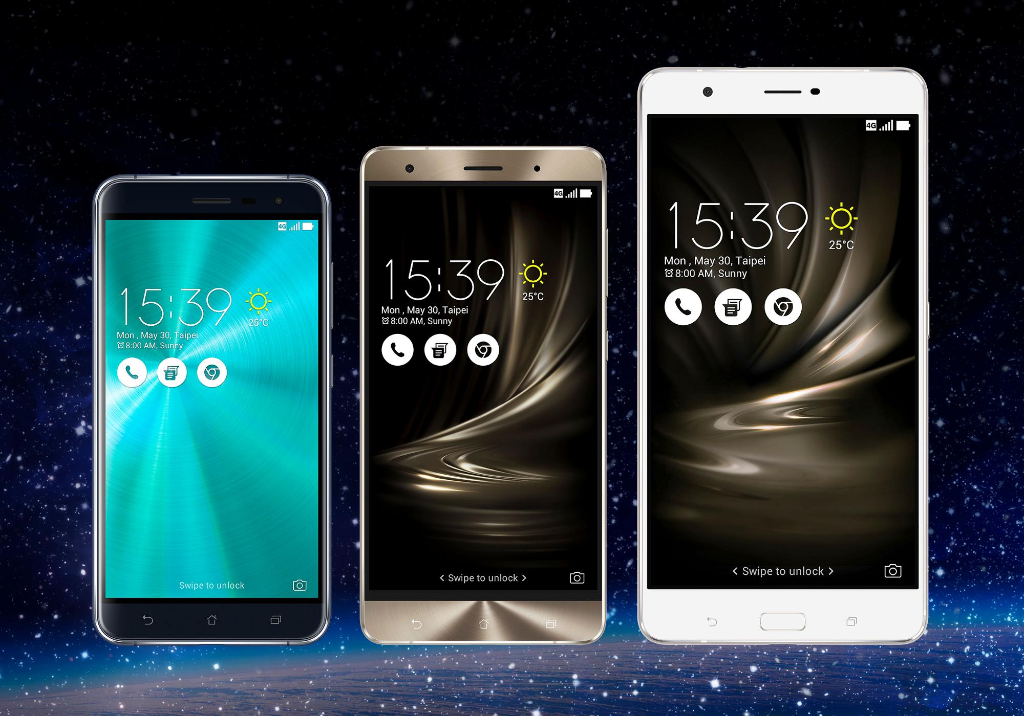 ASUS Announces Zenfone 3 Smartphone Family