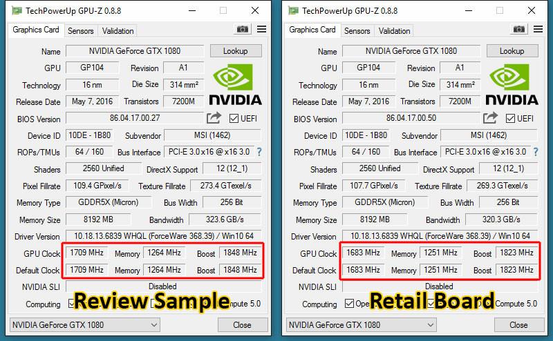 """ASUS Responds to GTX 1080 """"Reviewer VBIOS"""" Concerns"""