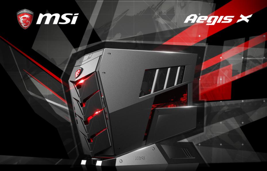 MSI AEGIS, the World's Fiercest Mobile Gaming Barebone PC Series